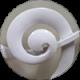 Белый полуматовый