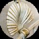 Античный белый с позолотой