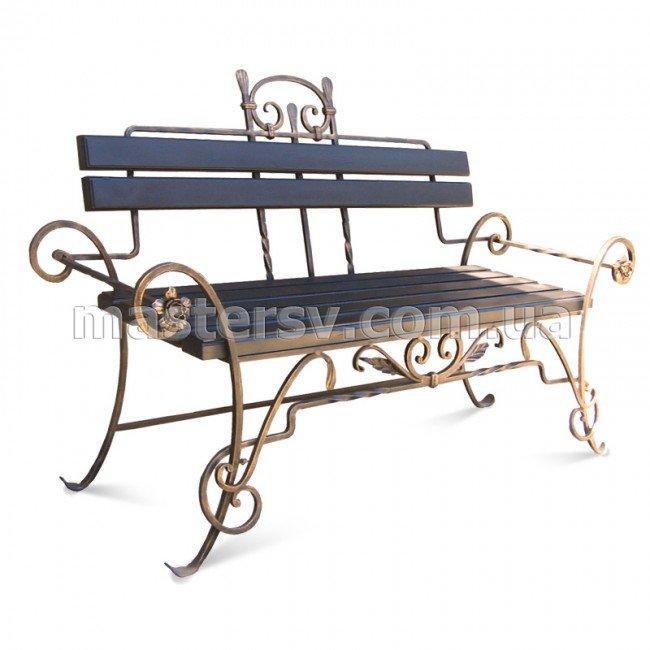 Кованая скамейка SM-23