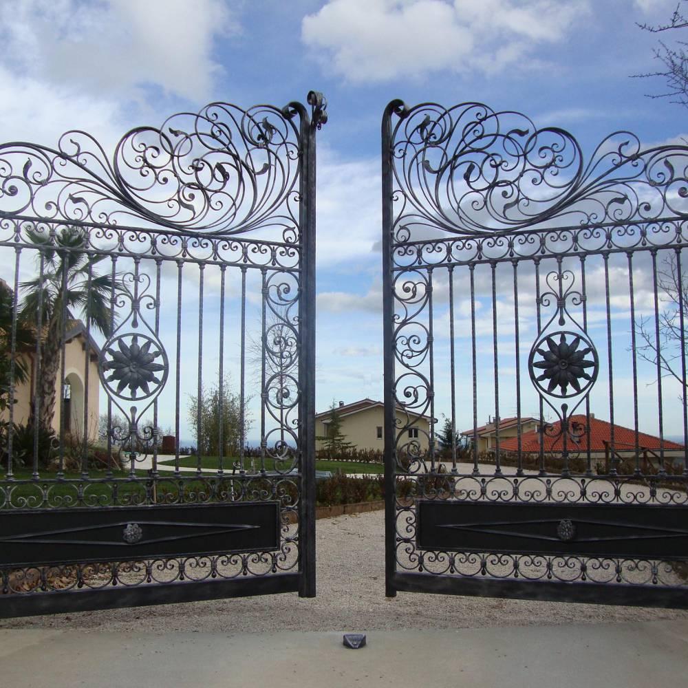 эксклюзивные кованые ворота