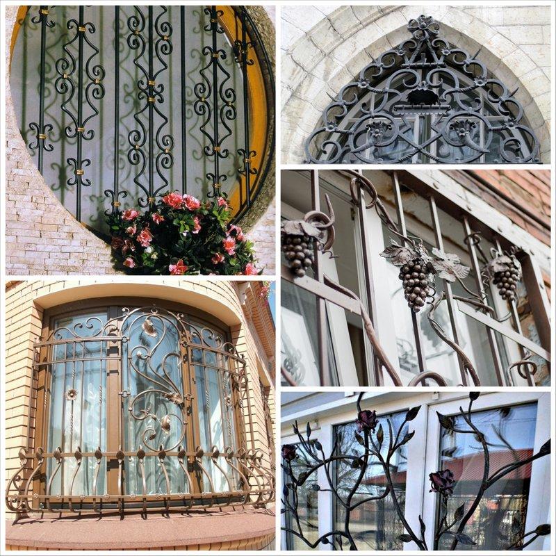 кованые решетки на окна киев