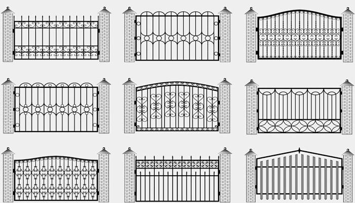 купить кованый забор украина