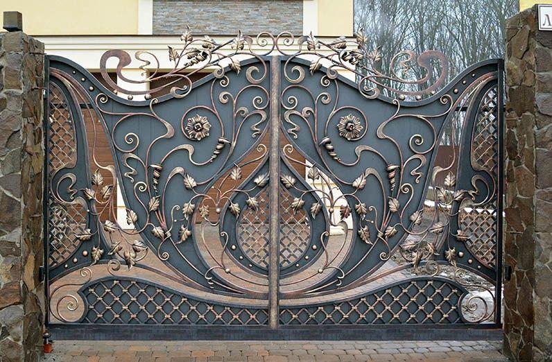 Кованые ворота «Премиум»