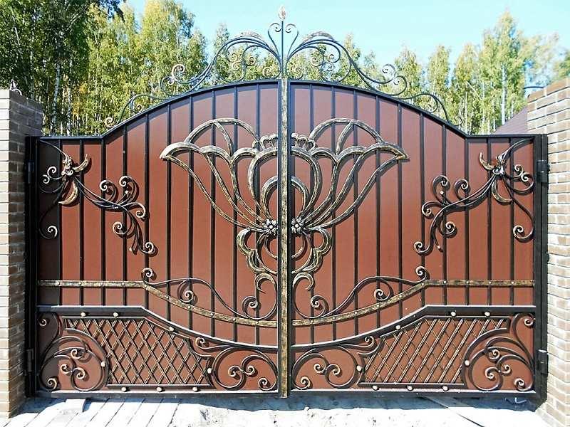 Кованые ворота «Стандарт»