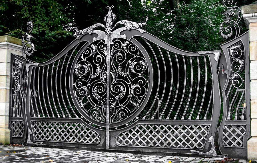 Кованые ворота «VIP»