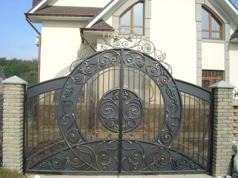 ворота на просвет