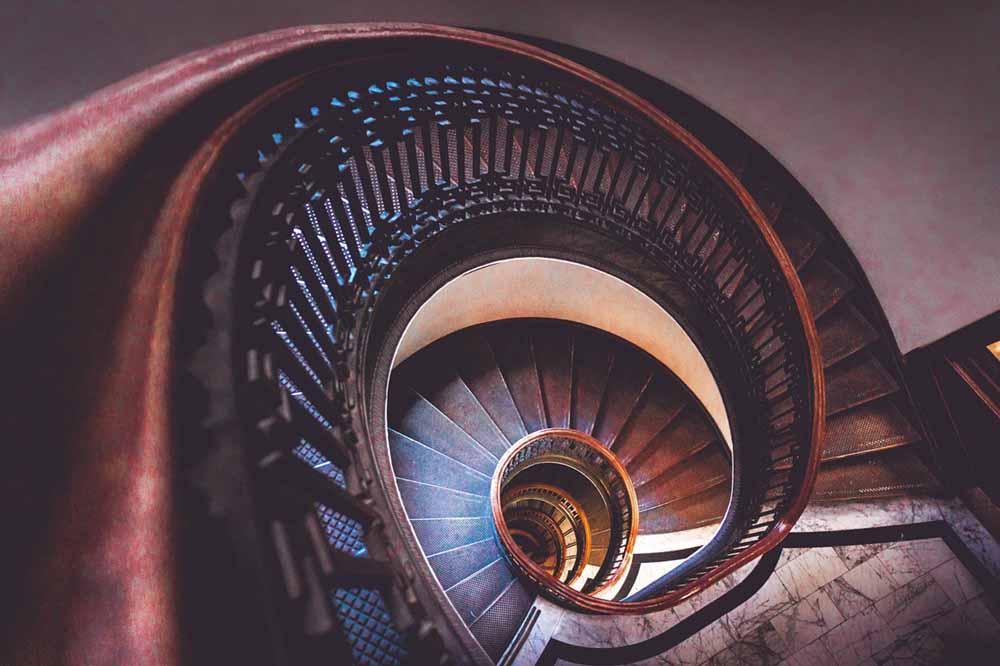 перила для лестниц кованые